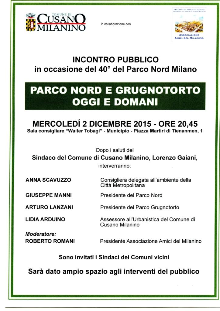 Incontro pubblico a Cusano Milanino