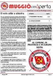 Speciale elezioni - Maggio 2009