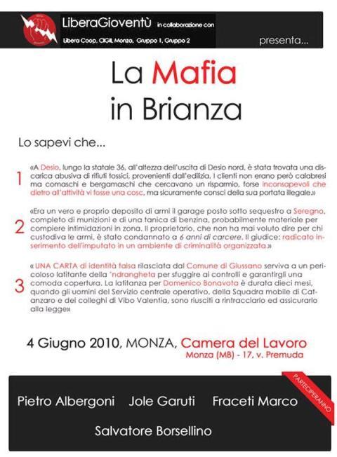 La mafia in Brianza
