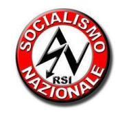 Il simbolo di ispirazione nazi-fascista dell'Unione per il Socialismo Nazionale