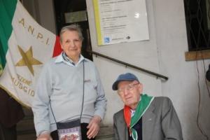 I partigiani Margherita Redetti e Carlo Fantin