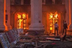 incendio sindacato odessa